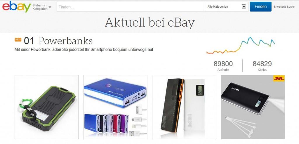 eBay Trending