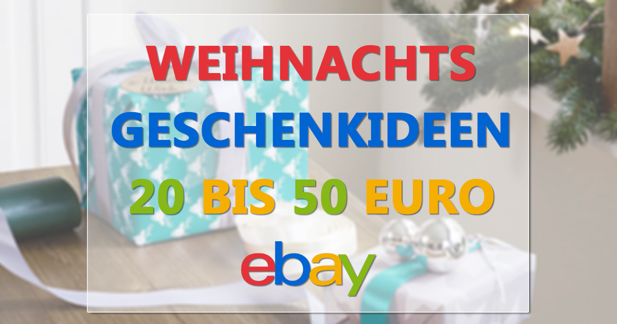 geschenkideen f r weihnachten 20 50 ebay auktionen ohne gebot last minute f r 1 euro. Black Bedroom Furniture Sets. Home Design Ideas