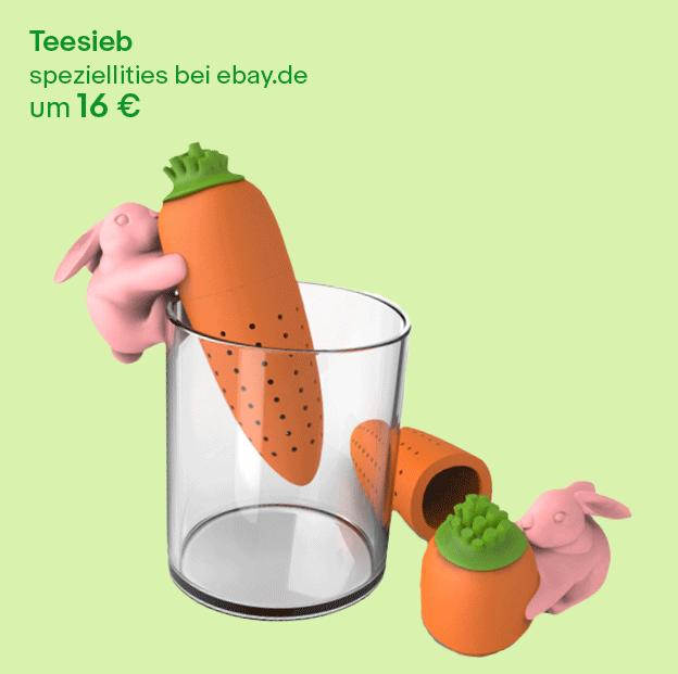 Teesieb zu Ostern verschenken