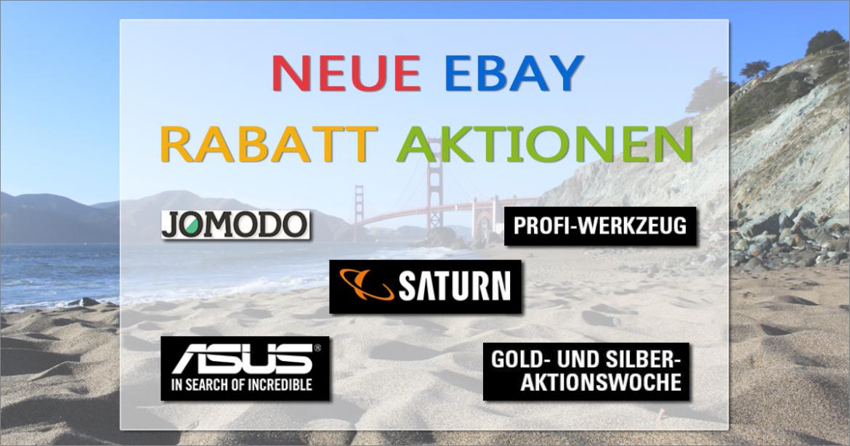 eBay Rabatt Aktionen